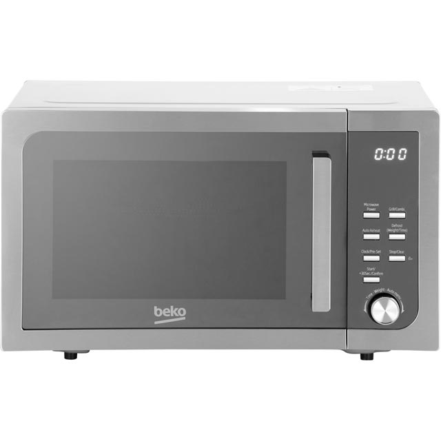 Beko MGF23210X 23 Litre Microwave With Grill - Stainless Steel