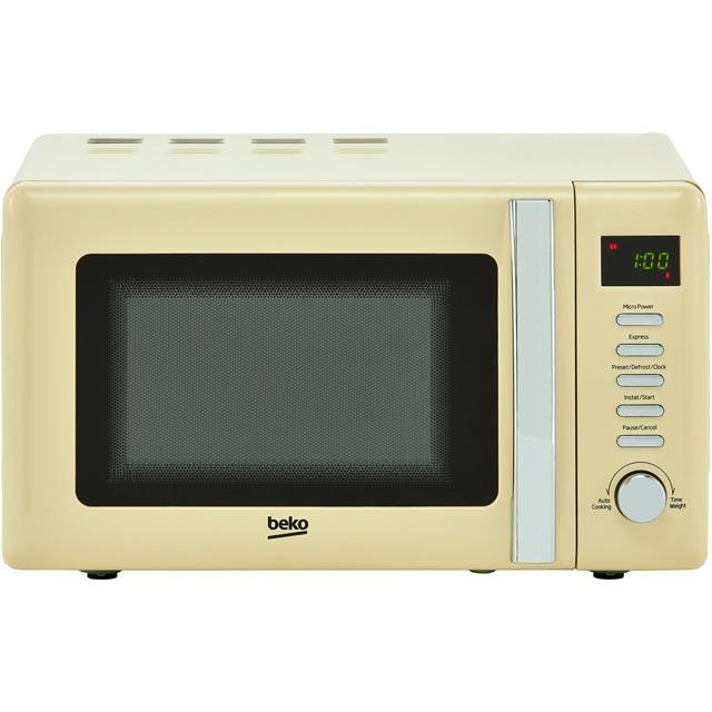 Beko Retro MOC20200C 20 Litre Microwave - Cream