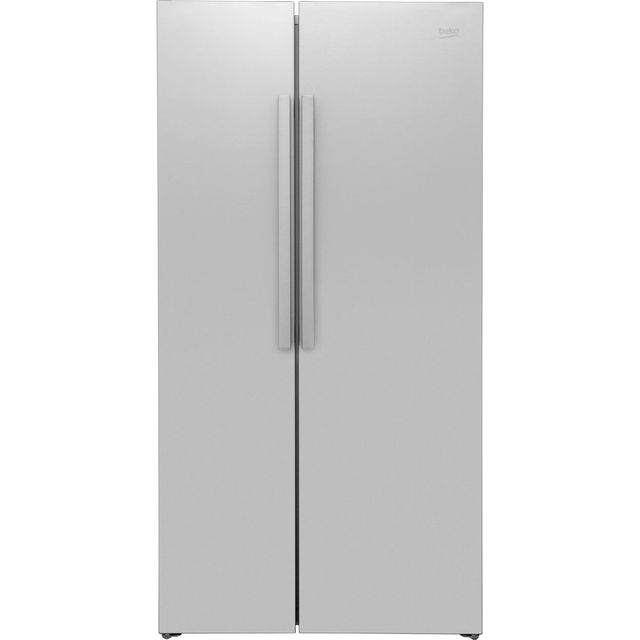 Beko RAS121LS American Fridge Freezer - Silver - A+ Rated
