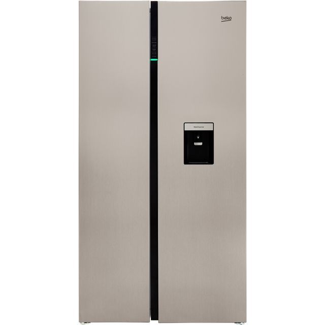 Beko RASGD242PX American Fridge Freezer - Brushed Steel - RASGD242PX_BS - 2