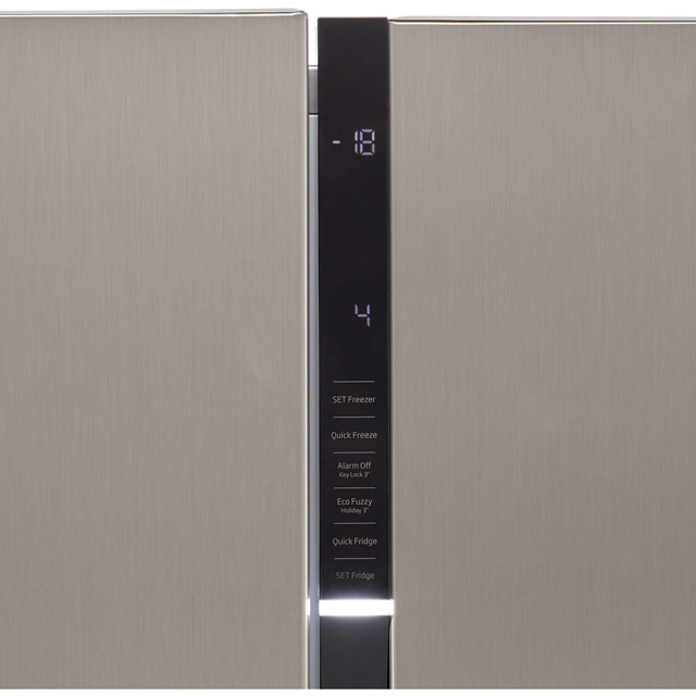 Beko RASGD242PX American Fridge Freezer - Brushed Steel - RASGD242PX_BS - 4