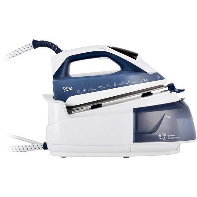 Beko SteamXtra SmartStation™ SGA7124B Pressurised Steam Generator Iron - Blue - SGA7124B_BL - 1