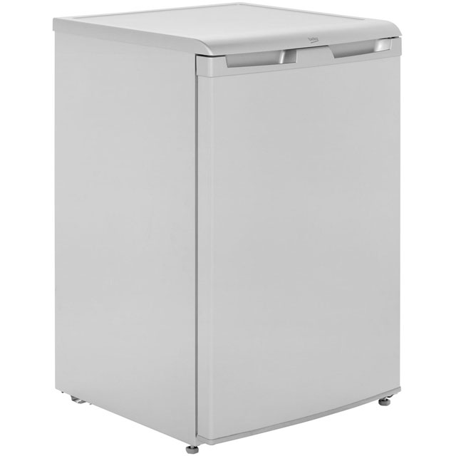 Beko UF584APS Under Counter Freezer - Silver - A+ Rated - UF584APS_SI - 1