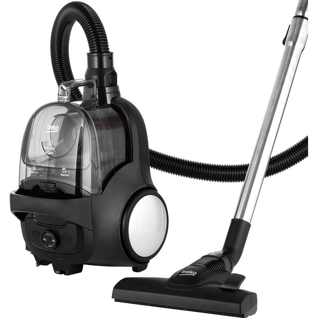 Beko VCO42701AB Bagless Cylinder Vacuum Cleaner - A Rated
