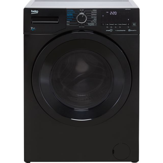 Beko WDER7440421B Washer Dryer - Black