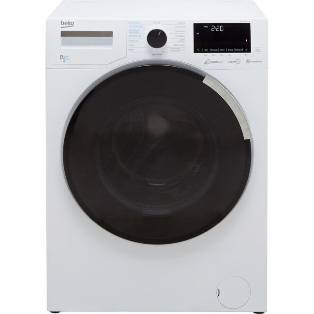 Beko WDEY854P44QW 8Kg / 5Kg Washer Dryer with 1400 rpm - White - A Rated