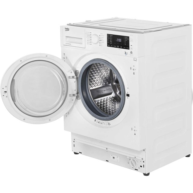 Beko WDIR7543101 Built In Washer Dryer - White - WDIR7543101_WH - 4
