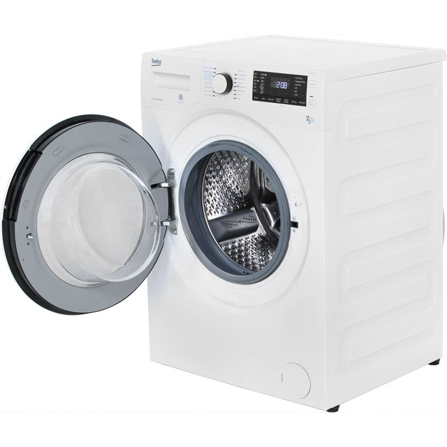 Beko WDR7543121B 7Kg / 5Kg Washer Dryer with 1400 rpm - Black - WDR7543121B_BK - 2