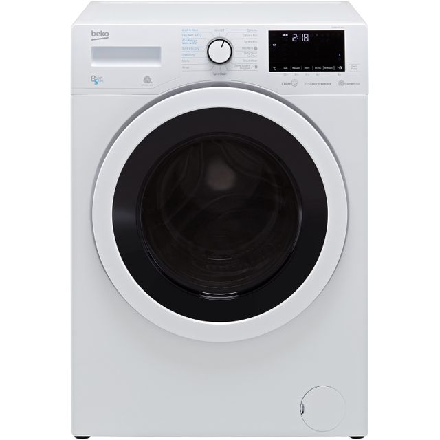 Beko WDR8540121W 8Kg / 5Kg Washer Dryer - White - WDR8540121W_WH - 1