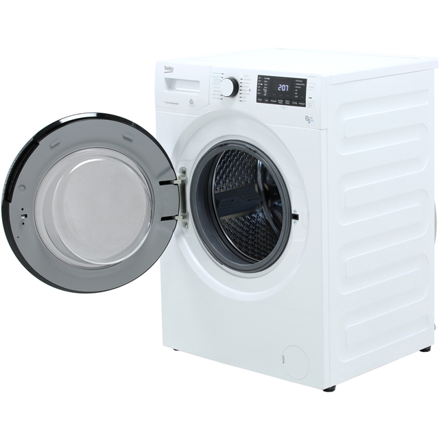 Beko WDR8543121W Washer Dryer - White - WDR8543121W_WH - 5