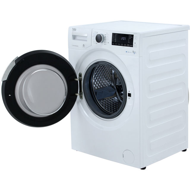 Beko WDR854P14N1W Washer Dryer - White - WDR854P14N1W_WH - 5