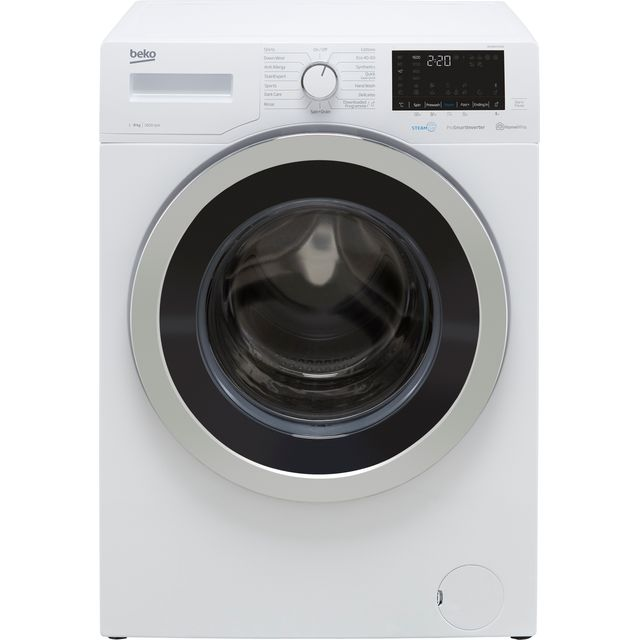 Beko WER860541W 8Kg Washing Machine with 1600 rpm - White - A+++ Rated