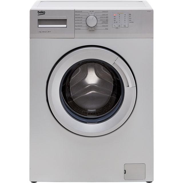 Beko WTG50M1S 5Kg Washing Machine with 1000 rpm - Silver - A++ Rated - WTG50M1S_SI - 1