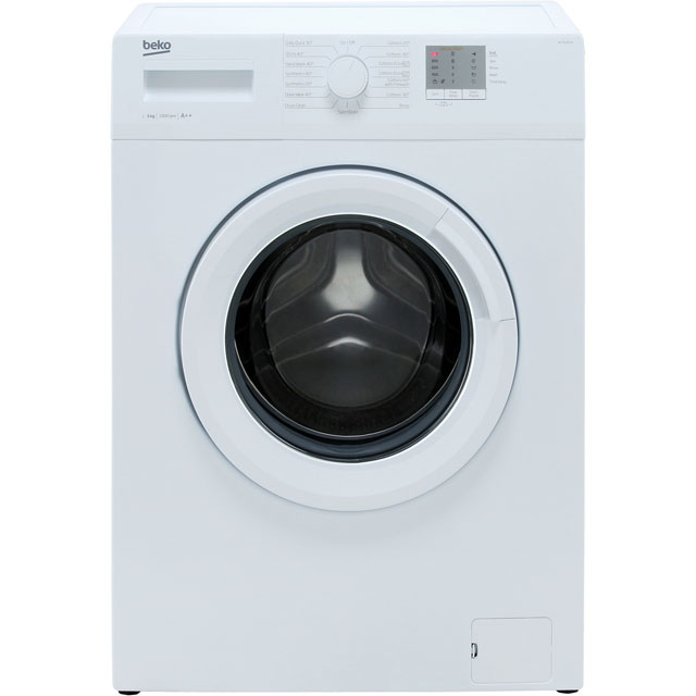 Beko WTG50M1W 5Kg Washing Machine with 1000 rpm - White - A++ Rated - WTG50M1W_WH - 1