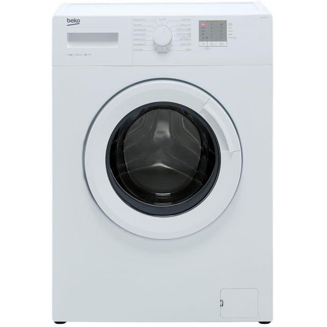 Beko WTG620M1W 6Kg Washing Machine with 1200 rpm - White - A+++ Rated - WTG620M1W_WH - 1