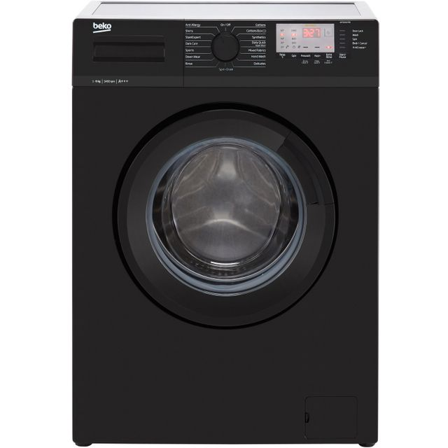 Beko WTG641M3B 6Kg Washing Machine - Black - WTG641M3B_BK - 1