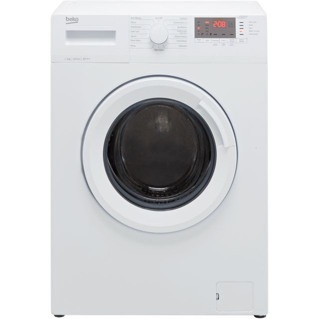 Beko WTG641M3W 6Kg Washing Machine - White - WTG641M3W_WH - 1