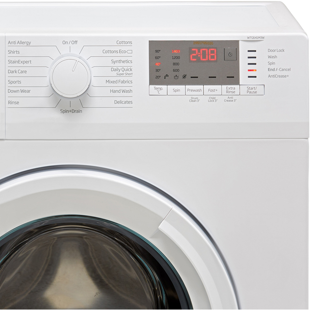 Beko WTG641M3W 6Kg Washing Machine - White - WTG641M3W_WH - 3