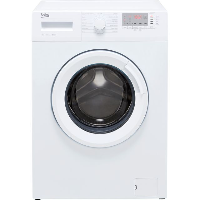 Beko WTG741M1W 7Kg Washing Machine with 1400 rpm - White - A+++ Rated - WTG741M1W_WH - 1