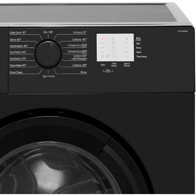 Beko WTG820M1W 8Kg Washing Machine with 1200 rpm - White - A+++ Rated