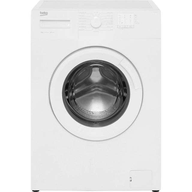 Beko WTG820M1W 8Kg Washing Machine with 1200 rpm - White - A+++ Rated - WTG820M1W_WH - 1