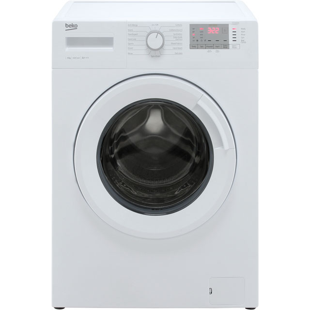 Beko WTG941B2W 9Kg Washing Machine with 1400 rpm - White - A+++ Rated - WTG941B2W_WH - 1