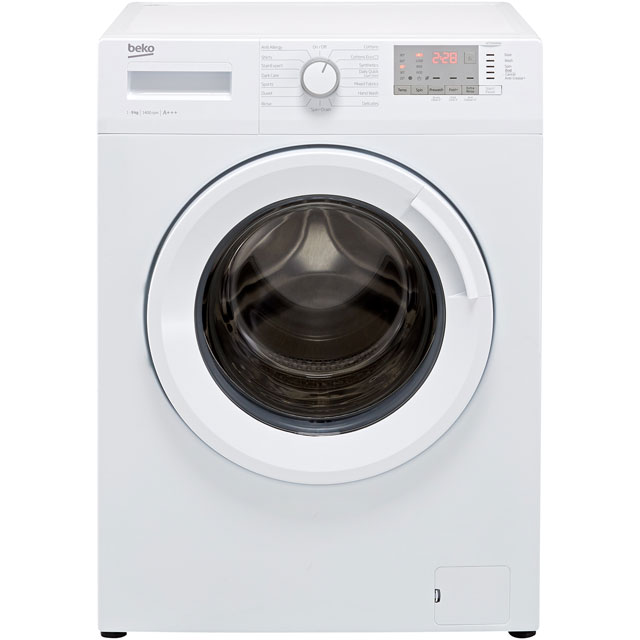 Beko WTG941B4W 9Kg Washing Machine with 1400 rpm - White - A+++ Rated
