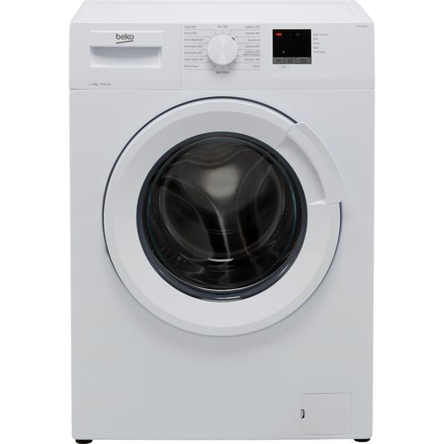 Beko WTL64051W 6Kg Washing Machine with 1400 rpm - White - D Rated