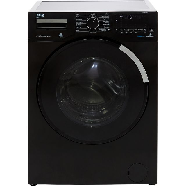 Beko WY940P44EB 9Kg Washing Machine with 1400 rpm - Black - A+++ Rated - WY940P44EB_BK - 1