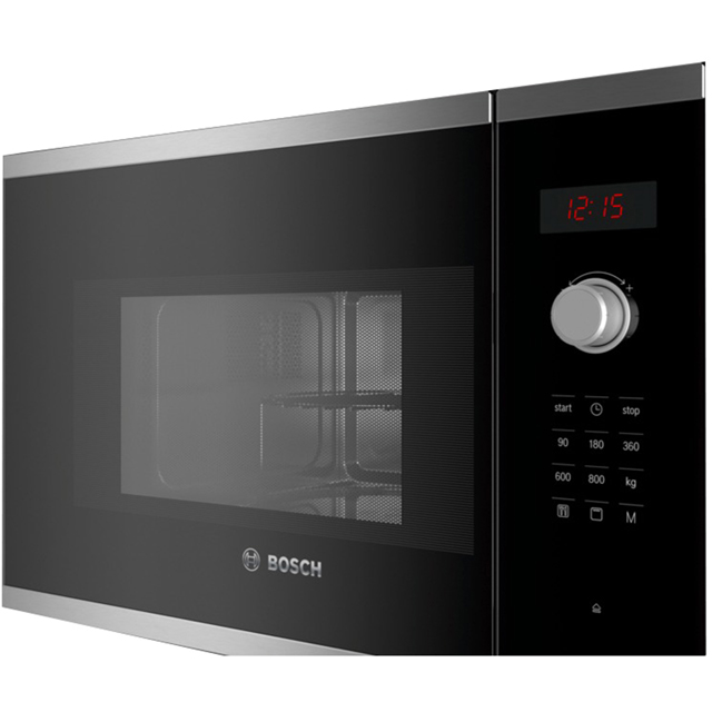 Bosch Serie 4 BEL523MS0B Built In Microwave With Grill - Stainless Steel - BEL523MS0B_SS - 5