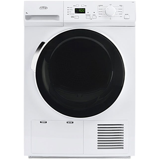 Belling BELFCD800 Free Standing Condenser Tumble Dryer in White