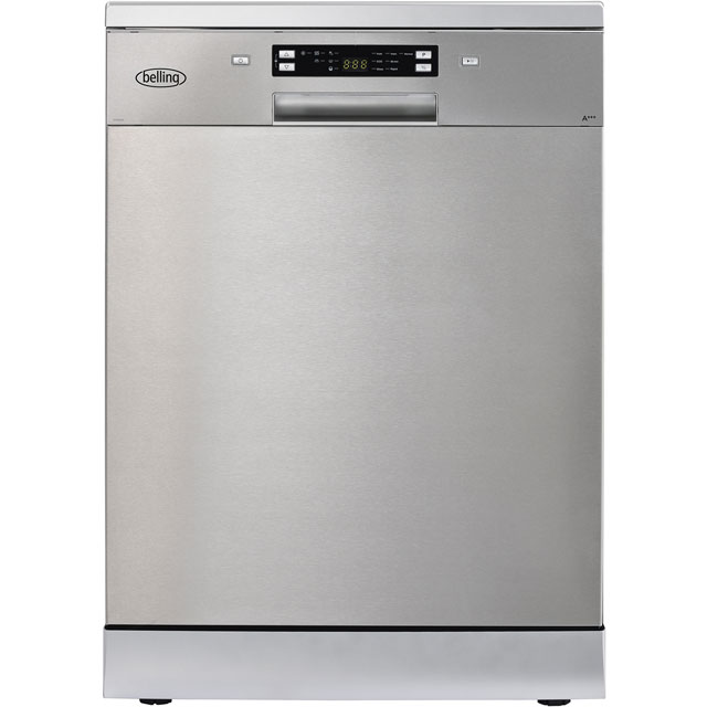 Belling BELFDW150 Standard Dishwasher - Stainless Steel Best Price, Cheapest Prices