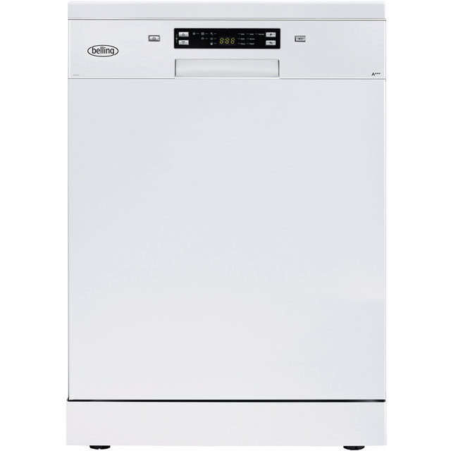 Belling BELFDW150 Standard Dishwasher - White Best Price, Cheapest Prices