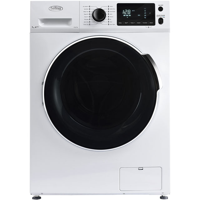 Belling BELFW714 7Kg Washing Machine with 1400 rpm - White - A+++ Rated - BELFW714_WH - 1