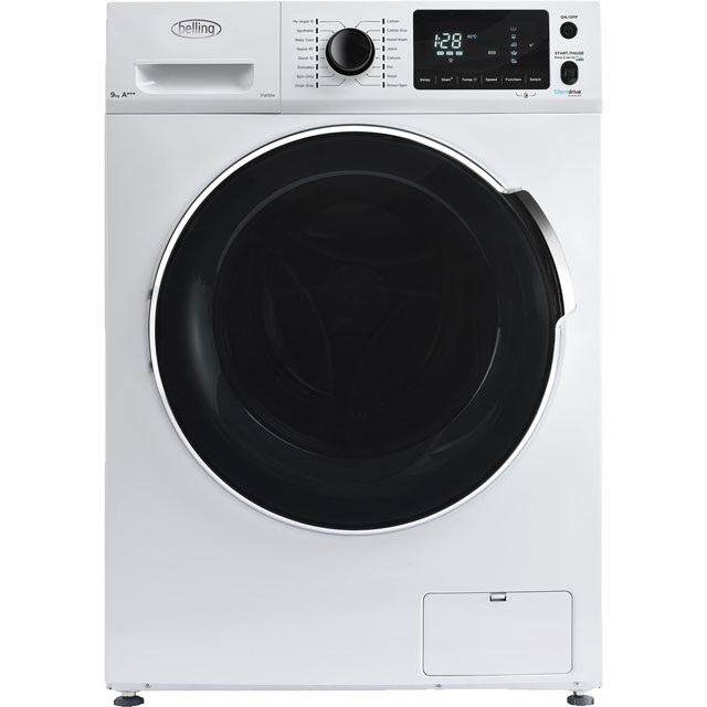 Belling 9Kg Washing Machine - White - A+++ Rated