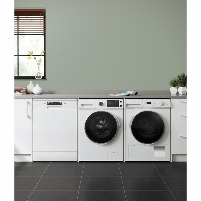 Belling BELFWD8614 8Kg / 6Kg Washer Dryer - White - BELFWD8614_WH - 2