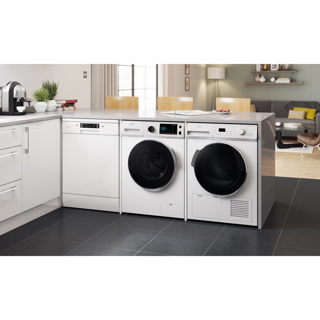 Belling BELFWD8614 8Kg / 6Kg Washer Dryer - White - BELFWD8614_WH - 3