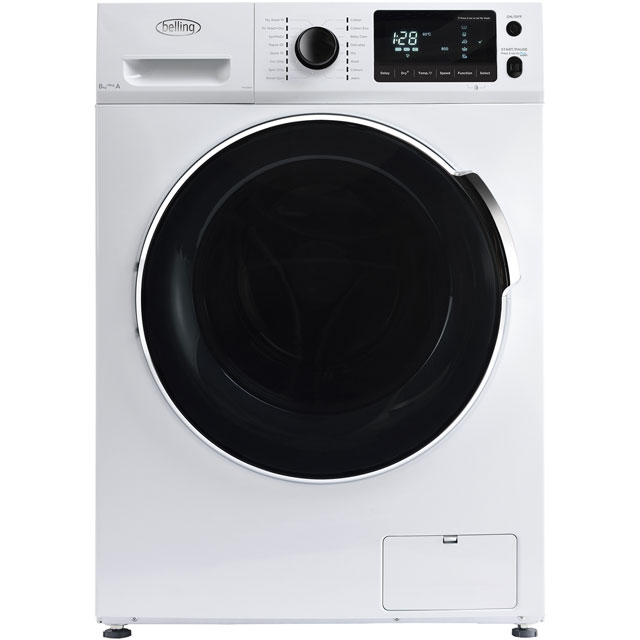Belling BELFWD8614 8Kg / 6Kg Washer Dryer with 1600 rpm - White - A Rated