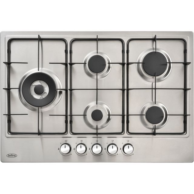 Belling BEL GHU75GC Built In Gas Hob - Stainless Steel