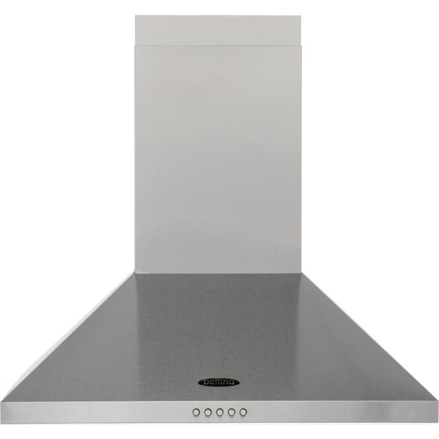 Belling 60 cm Chimney Cooker Hood - Stainless Steel - E Rated
