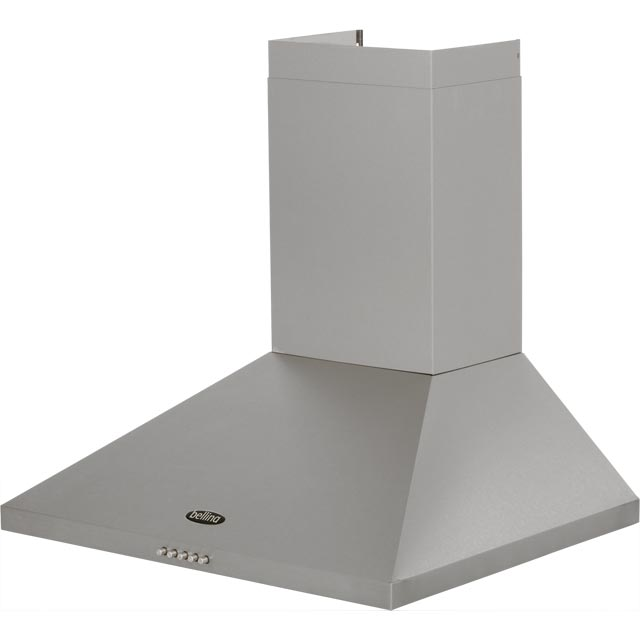 Belling 60CHIM 60 cm Chimney Cooker Hood - Black - 60CHIM_BK - 5