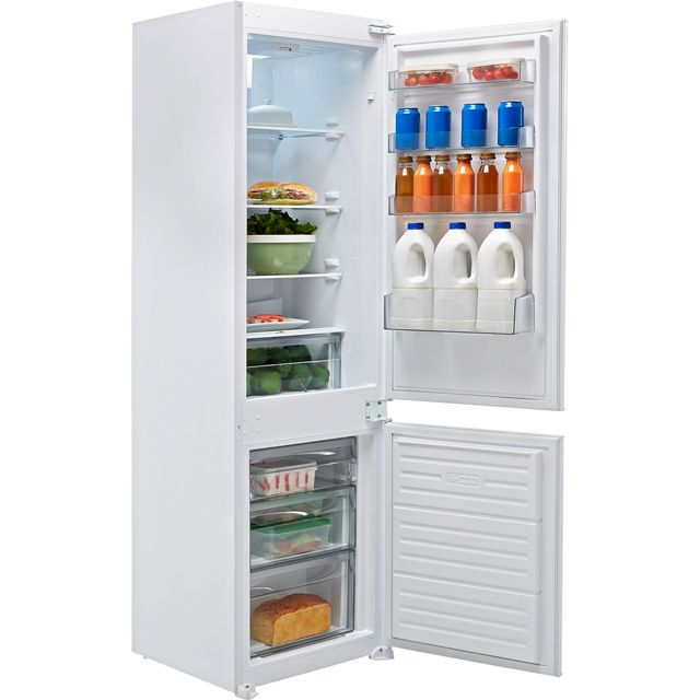 Belling B70309FF Integrated 70/30 Frost Free Fridge Freezer with Sliding Door Fixing Kit - White - A+ Rated
