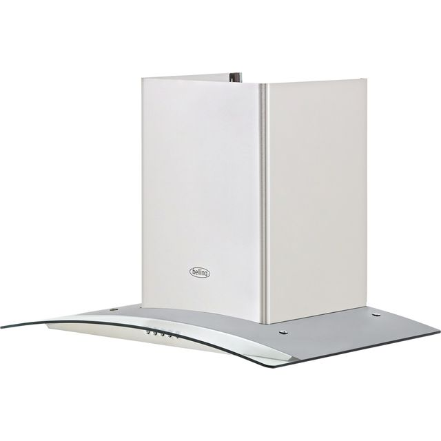 Belling BEL 60 GH Built In Chimney Cooker Hood - Stainless Steel - BEL 60 GH_SS - 1