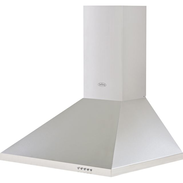 Belling BEL 602 CHIM 60 cm Chimney Cooker Hood - Stainless Steel - B Rated