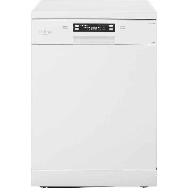 Belling Free Standing Dishwasher in White