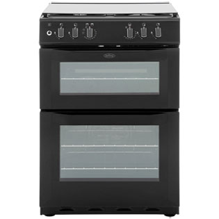Belling FSDF60DOW Dual Fuel Cooker - Black - A Rated