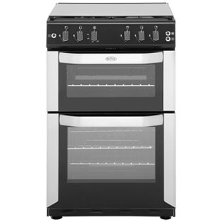 Belling FSG55TCF Gas Cooker with Gas Grill - Stainless Steel - A Rated