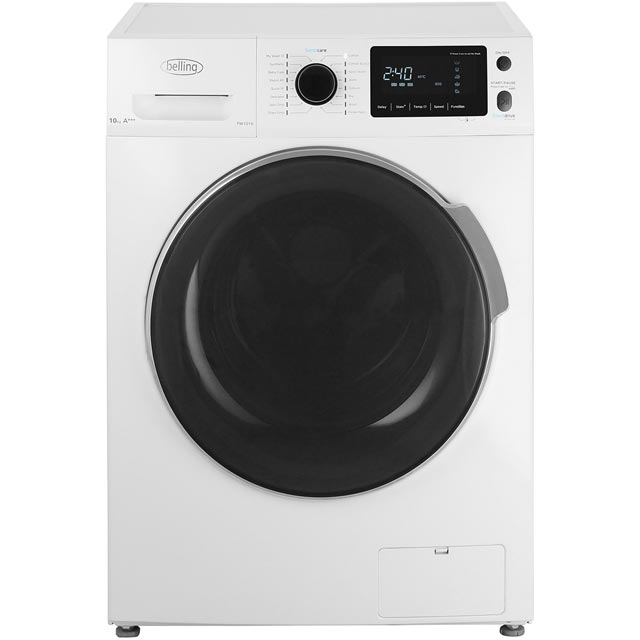 Belling BELFW1016 10Kg Washing Machine with 1600 rpm - White - A+++ Rated - BELFW1016_WH - 1
