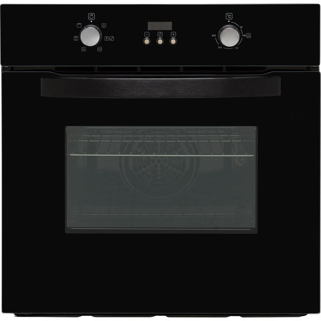 Belling BI602F Built In Electric Single Oven - Black - A Rated - BI602F_BK - 1