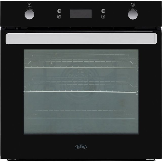 Belling BI602MFPY Built In Electric Single Oven - Black - A Rated - BI602MFPY_BK - 1
